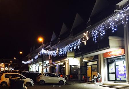 Installazione luminarie natalizie